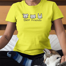 Best Friends Women's Scoopneck T-Shirt