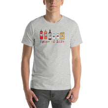 Uncle Bobo's Colorful Spice of Life Unisex T-Shirt Gray