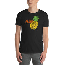 Uncle Bobo's Hawaii Pineapple Unisex T-Shirt Black