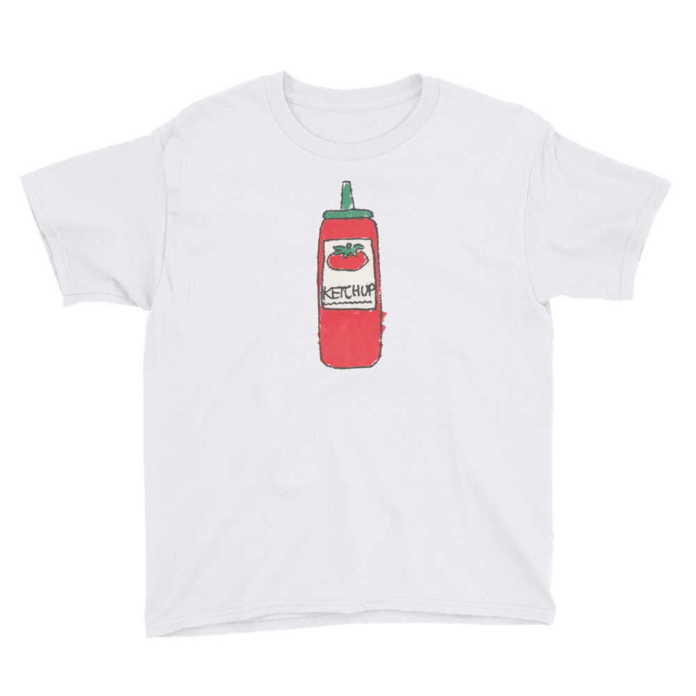 Uncle Bobo's Ketchup on your Youth T-Shirt White