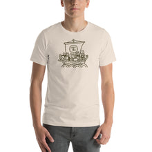 Uncle Bobo's Ship of Technology Unisex T-Shirt Cream