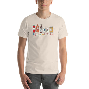 Uncle Bobo's Colorful Spice of Life Unisex T-Shirt Cream