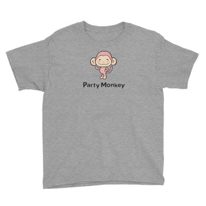 Uncle Bobo's Party Monkey Youth T-Shirt Gray