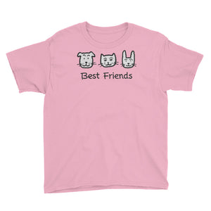 Uncle Bobo's Best Friends Youth T-Shirt Pink