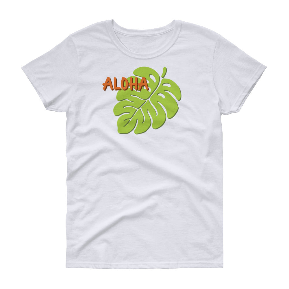 Hawaii Monstera Women's T-shirt