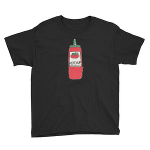 Uncle Bobo's Ketchup on your Youth T-Shirt Black