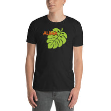Uncle Bobo's Hawaii Monstera Unisex T-Shirt Black