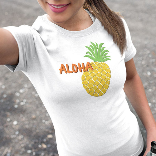Hawaii Pineapple Women's T-shirt