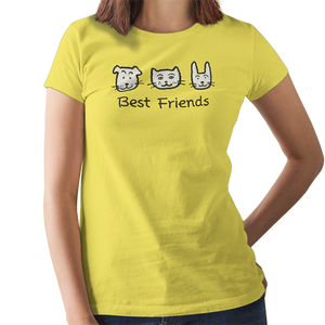 Uncle Bobo's Best Friends Women's Scoopneck T-Shirt