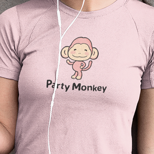 Party Monkey Women's T-shirt