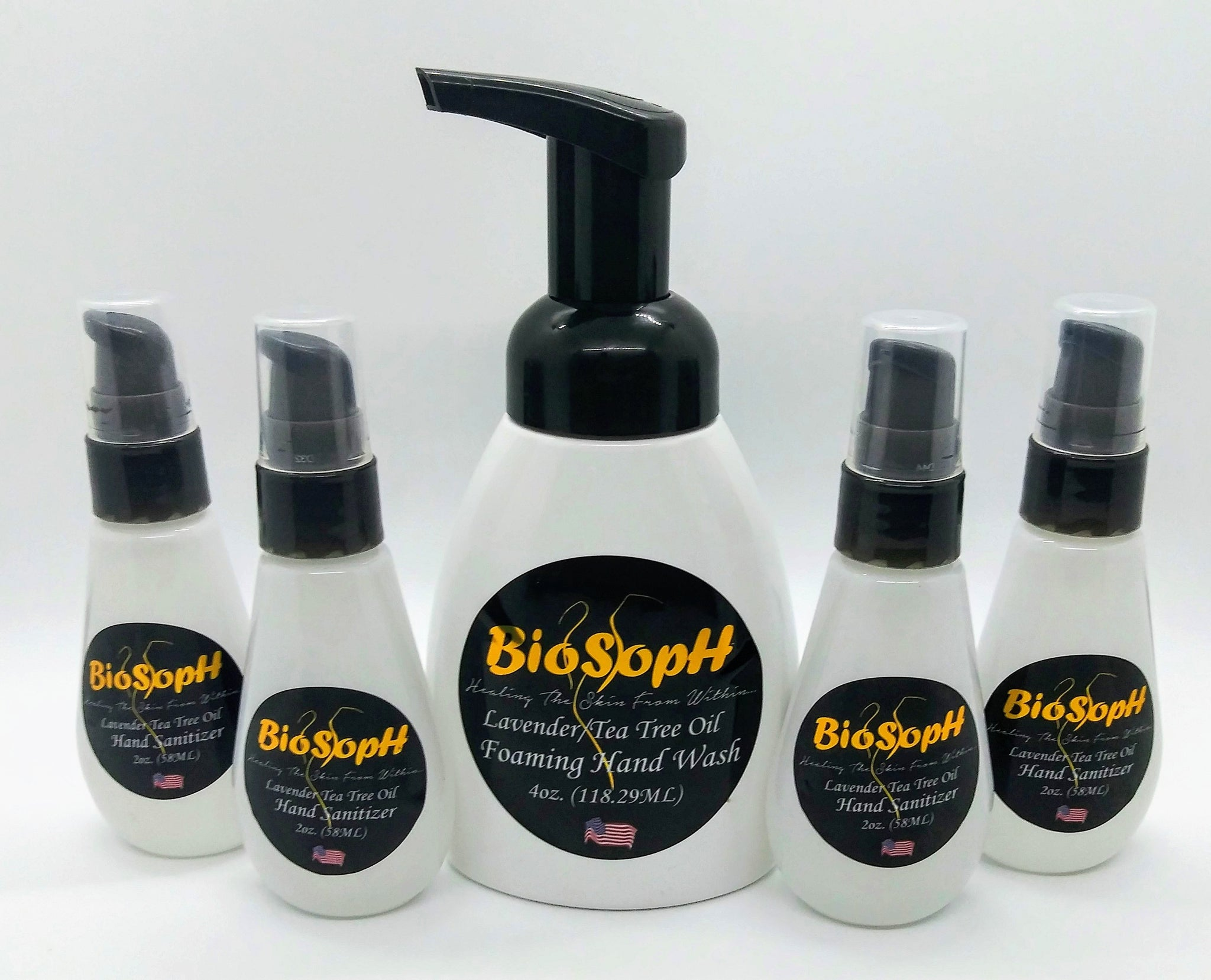 BioSoph Lavender Tea Tree Collection