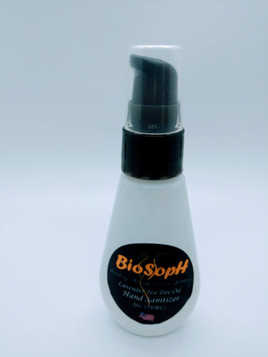 BioSoph Hand Sanitizer 2oz Bottle