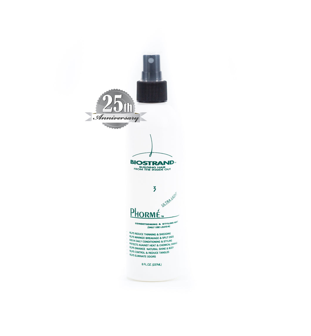 Phorme' Ultra Light - Conditioning/Moisturizing & Styling Mist