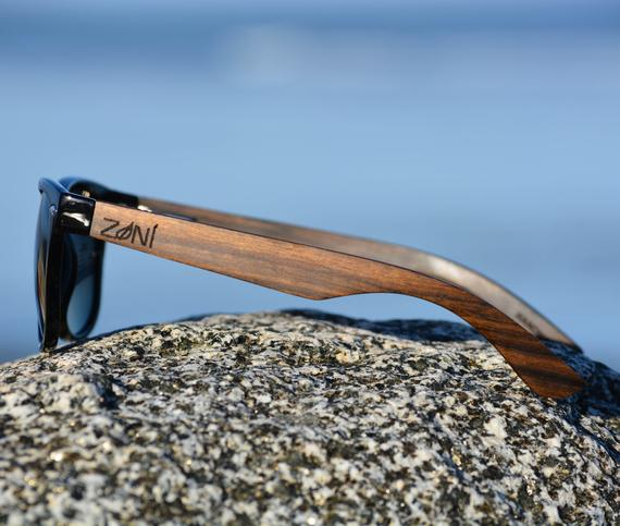 Wood Sunglasses. Personalized Ebony Wood Sunglasses. Polarized. Groomsmen Gifts. Bridesmaid Gift. Mens Sunglasses. Womens Sunglasses