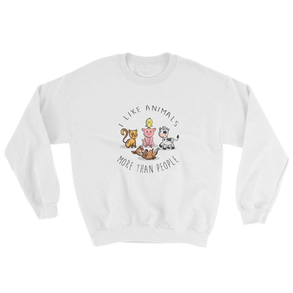 I Like Animals | Sweatshirt