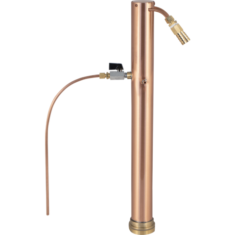 Copper Reflux Still Condenser