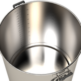 50 Gallon Spike Brewing Kettle - V4, Vertical Couplers