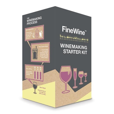 FineWine™ Deluxe Starter Kit with Glass Carboy