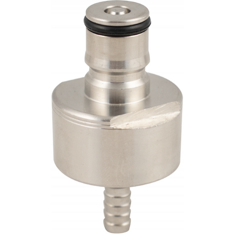Stainless Carbonation and Line Cleaning Cap