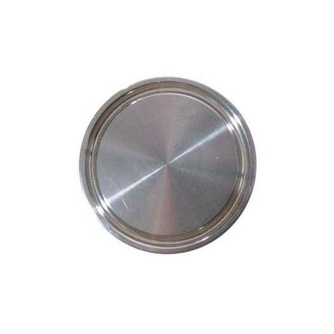 1.5'' Tri-Clamp End Cap, Stainless Steel