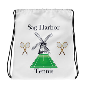 """Sag Harbor Tennis"" Drawstring bag"
