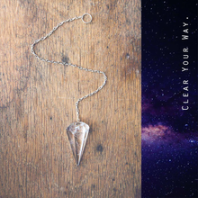 Clear Quartz Pendulum Ornament