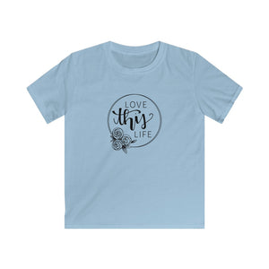 LOVE THIS LIFE KIDS SOFT STYLE TEE