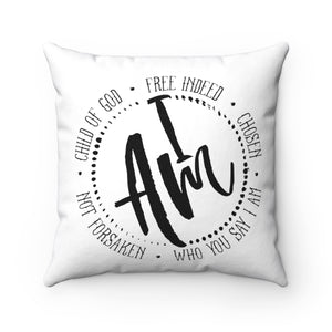 I AM PILLOW COVER