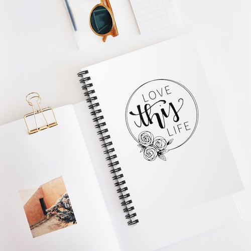 LOVE THIS LIFE SPIRAL NOTEBOOK