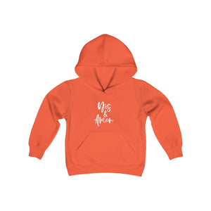YES & AMEN KIDS HOODED SWEATSHIRT
