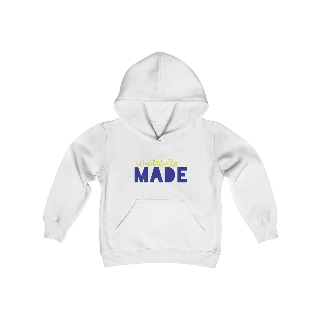 WONDERFULLY MADE KIDS HOODED SWEATSHIRT