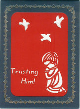 1503 Trusting Him! w/Scripture (10-Pack)