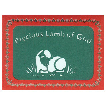213 Precious Lamb of God w/Scripture (10-Pack)