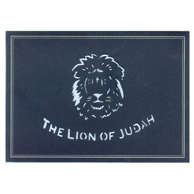 216 The Lion of Judah w/Scripture