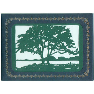 2504 Green Tree w/Scripture (10-Pack)