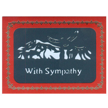 253 With Sympathy w/Scripture (10-Pack)