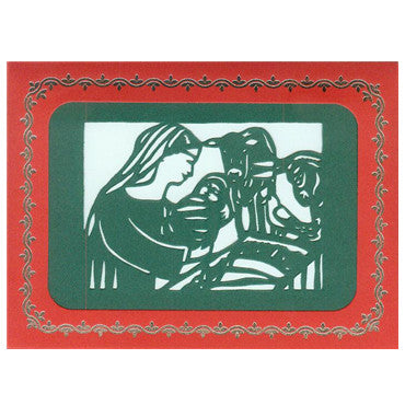 308 The Nativity w/Scripture (10-Pack)