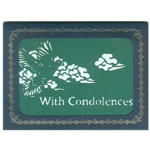 311 With Condolences w/Scripture (10-Pack)