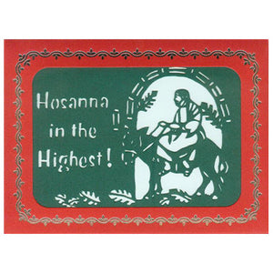 313 Hosanna in the Highest! w/Scripture (10-Pack)