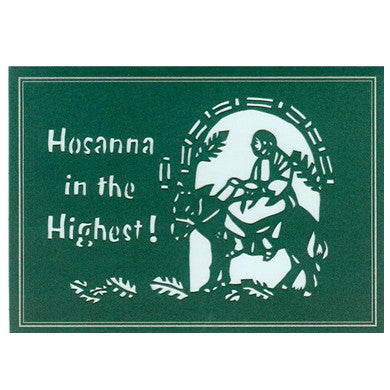 313 Hosanna in the Highest! w/Scripture