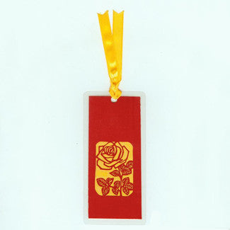 B132 Rose (Bookmark)