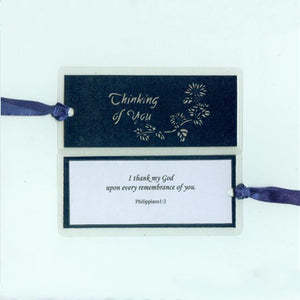 B212 Thinking of You w/Scripture (Bookmark)