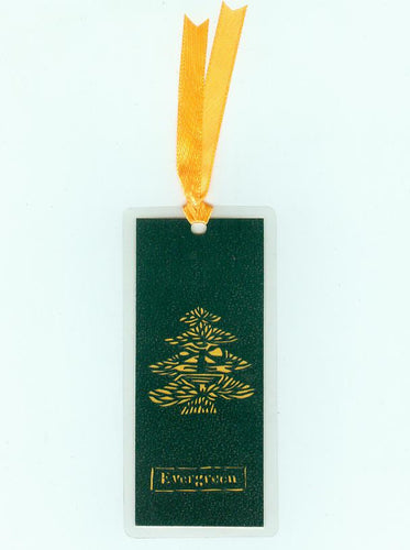 B214 Evergreen Tree (Bookmark)