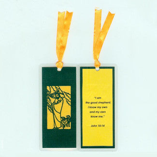 B221 The Good Shepherd w/Scripture (Bookmark)