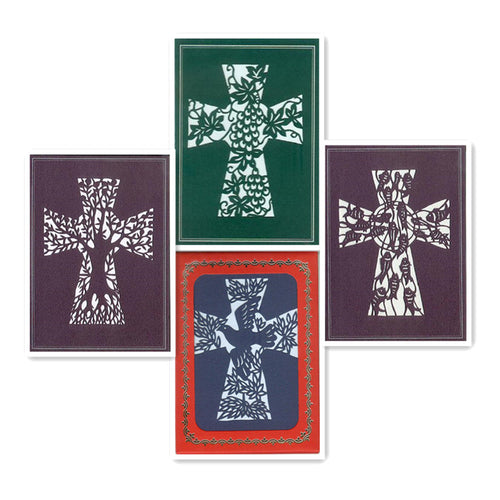 Crosses (C-4 Set w/Scripture)