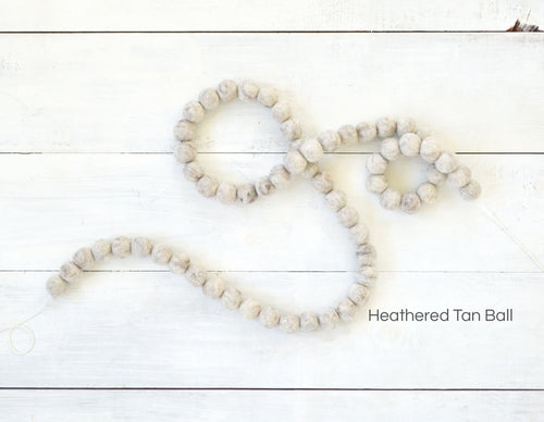 Felt Ball Garland - Heather Tan