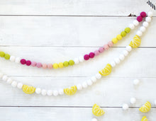 Felt Ball Garland - Lemon