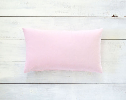 Pink Velvet Pillow Cover