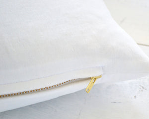Creamy White Velvet Pillow Cover