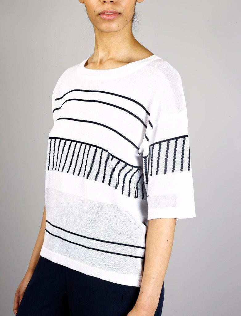 Womens Native Youth Sulu Jumper In White